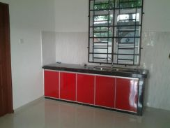Double story semi D house for rent.