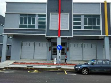 Brand New Jasin Perdana 2 storey Shop Office