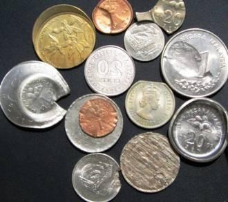 Any types of Malaysia Coin Errors