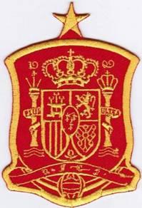 Spain National Football Team Soccer Badge Patch