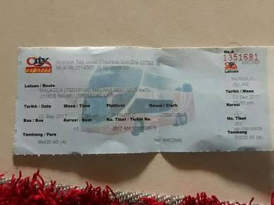 Ticket bas