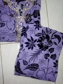 Baju kurung Pahang fit saiz S-L