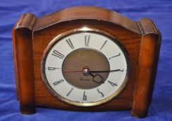 Antique vintage westclox scotland electric clock