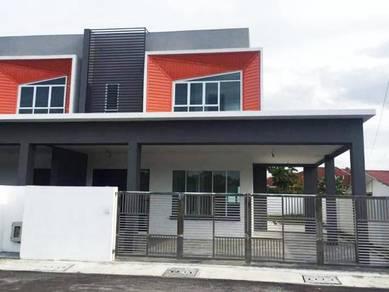 Double Storey Terrace Corner House at Jalan Stephen Yong, Kuching