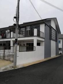 2 storey house for rent Jalan Tempua ,Taman Scientex