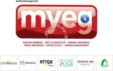 PUSPAKOM, MYEG, JPJ & Insurance related matters