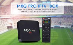 Mx (Pro 4KHD) tv android box decoder channel iptv