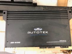 Autotek amp amplifier 4 channel