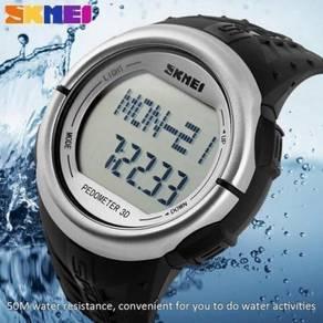 SKMEI 1058 Sport Watch, Heart Rate Monitor, Pedome