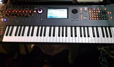 Yamaha Montage 6 61 Key With 7 Sound libraries Mus