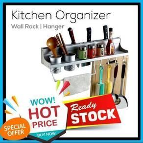 Kitchen Storage Organizer Wall Rack (4)
