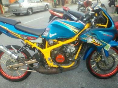 1995 or older Kawasaki KRR 150