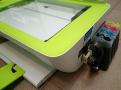 Install ASE Ink System for HP Ink Adv 2135