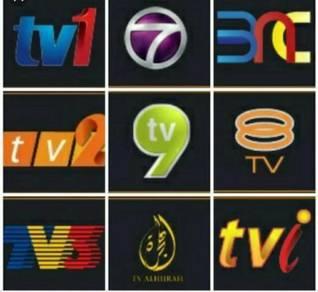 PERCUMA 2000++ Siaran LIVE SPORT MOVIES TV CHANNEL