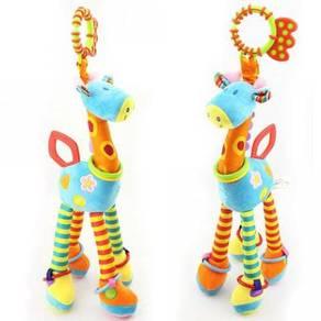 Happy Monkey Giraffe Baby Toys Plush Doll
