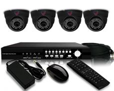 4channel new package install cctv
