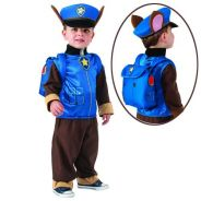 Paw Patrol Police Chase Costume 2-6y