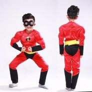 The Incredibles Mr. Incredible Muscle ChildCostume