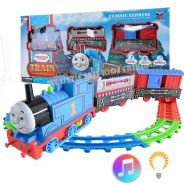 Motorized Thomas Track Play set with Light