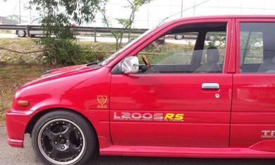 Sticker kancil Daihatsu mira l2s l200s rs l2