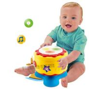 Mini Drum King Baby Musical Toy Drum with light