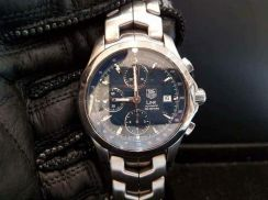 PREOWNED TAG HEUER LINK, Automatic, 42mm Chronogra