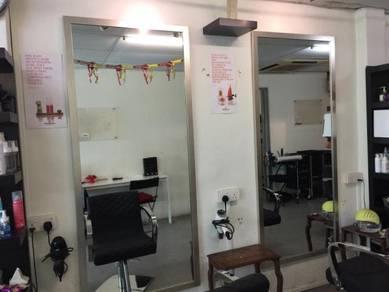 Salon use big rectangle mirror