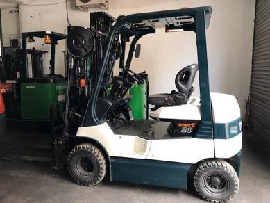 Japan Direct Import TOYOTA BATTERY Forklift 2 Ton