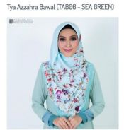 Tya Azzahra Bawal (Sea Green)