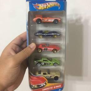 Hot Wheels Corvette 5 pack