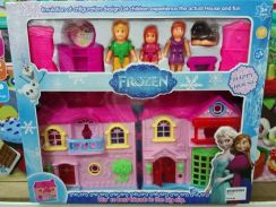 Frozen little mini house