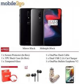 (0% GST) OnePlus 6 A6003 [64GB+6GB RAM] + Gift