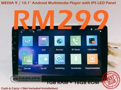 MEDIA 10.1 Android Wifi Player NEW YEAR OFFER