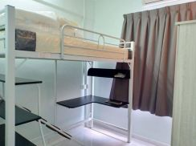 Fully Furnished ROOM Pangsapuri Kota Laksamana Utama Melaka Town