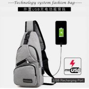 BEST PRICE! Multifunctional USB charging chest bag