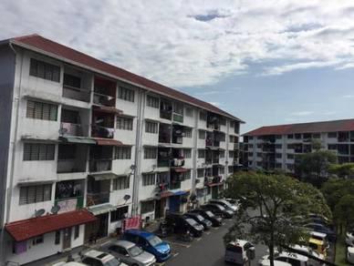 Apartment tmn bunga negara, shah alam-freehold , cantik, murah