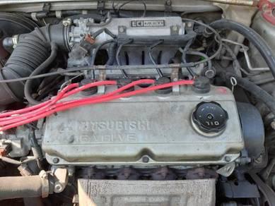 Halfcut Mitsubishi 4G93 SOHC 1.8L.