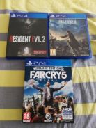 PS 4 Used Games - RE 2 remake, FF15 and Far Cry 5