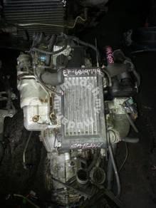Enjin l7 l9 twin cam turbo 12v complet wiring ecu