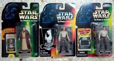 LOT C30C Star Wars Old Anakin & Han Solo Carbonite