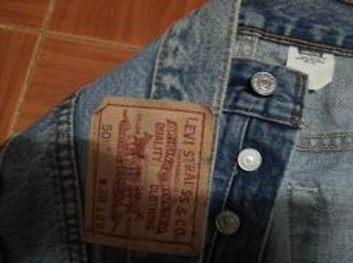 Levis 501 jeans W 38 L 43 ref Jly 22