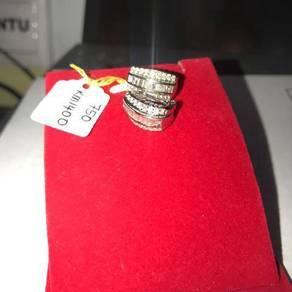 Anting-anting gold diamond original