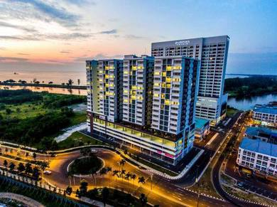 The Wharf 7th Floor, Condo, Miri City Centre (Fully furnished)