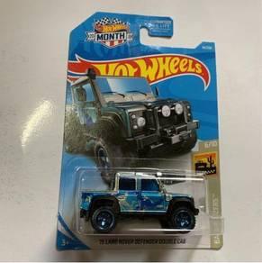 Hotwheels Land Rover Defender Double CAB  zamac