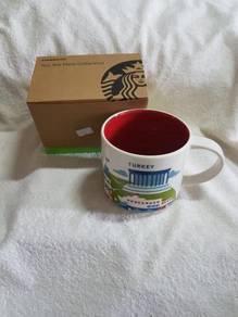 Authentic Starbucks YAH Turkey Mug