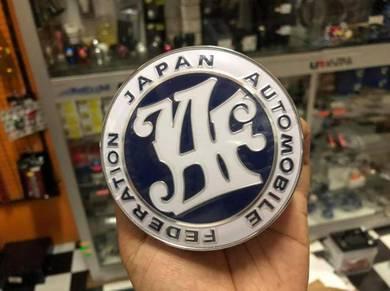 Emblem JAF Biru dan JAF 20th