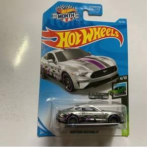Hotwheels ford mustang GT  zamac