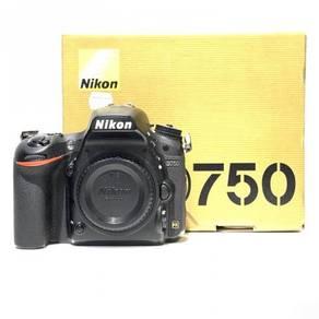 Nikon D750 Body Only (SC 38K+, 97% New)