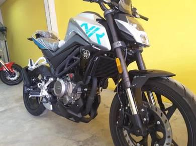 Ktns cfmoto 250nk (std) special offer low d.p