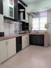 Selesa Jaya 1st Floor Sri Awana Town House Skudai Full Furniture